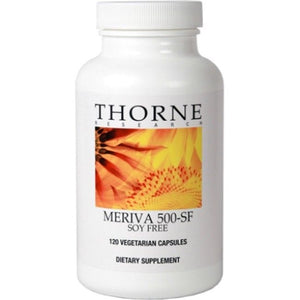 Meriva 500-SF 120's (Large) By Thorne. Curcumin-Sunflower Phospholipids 500mg