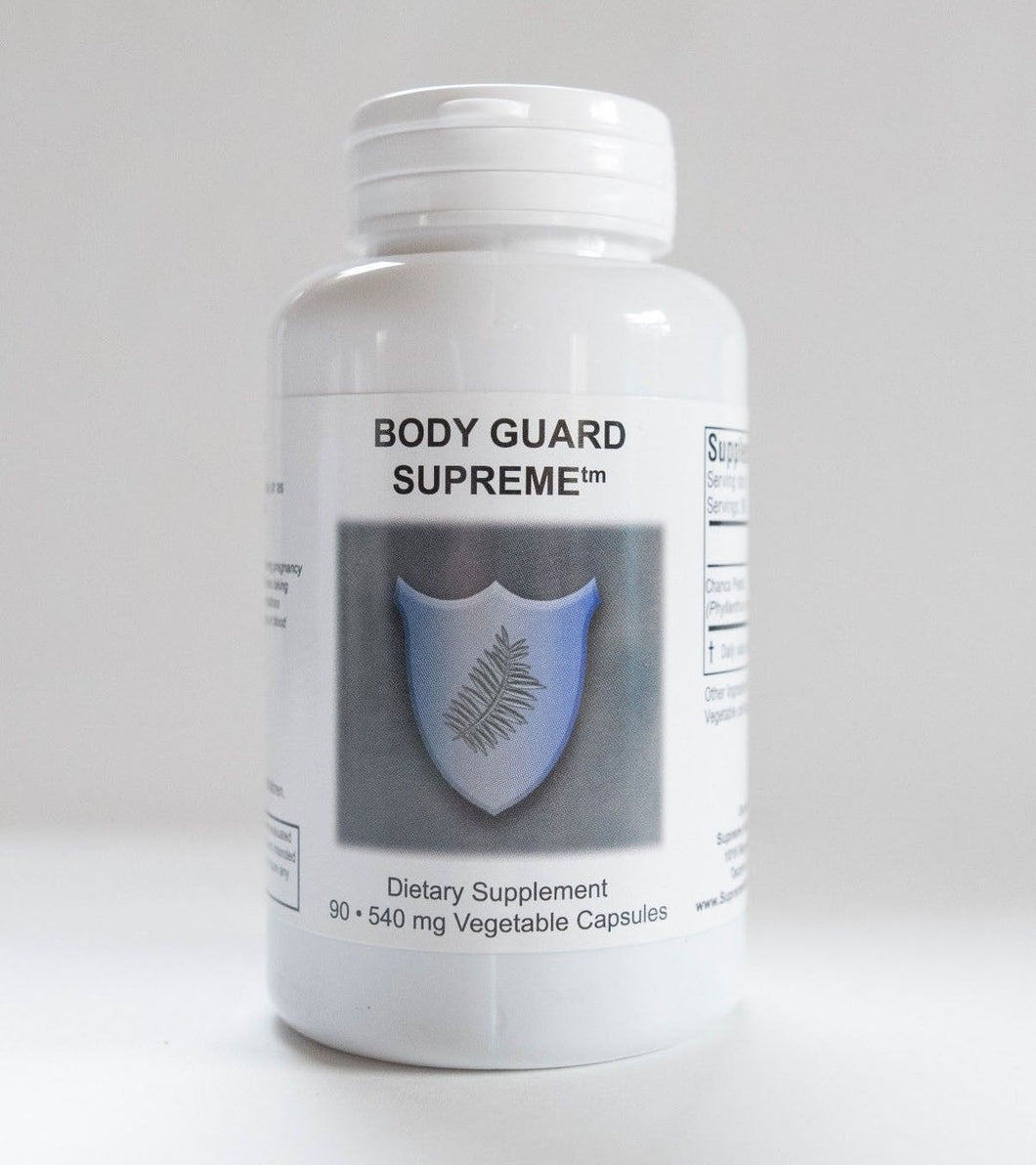 Bodyguard Supreme by Supreme Nutrition. Detox, Antimicrobial, Kidney Stones & Gallstones