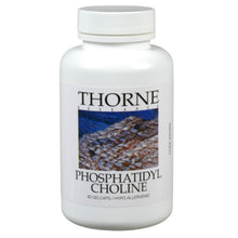 Phosphatidyl Choline by Thorne Research. 60 Gelcaps. Liver Support.