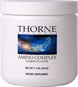Amino Complex by Thorne Research. Lemon Flavor. 7.7 Ounce Powder