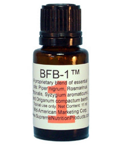 BFB-1 By Supreme Nutrition: Essential Oil Blend That Breaks Down Biofilm