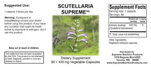 Scutellaria Supreme by Supreme Nutrition. Helps Pain, Candida, Mood, Sleep.
