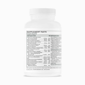 Extra Nutrients by Thorne Research 240 Veg Caps. Multi W/Extra Antioxidants. New Formula!