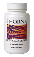 Iron Bisglycinate by Thorne Research. 60 Caps. Well-Absorbed, Non-Constipating.