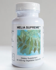 Melia Supreme (Neem) by Supreme Nutrition. Antimicrobial, Detox, Allergies.