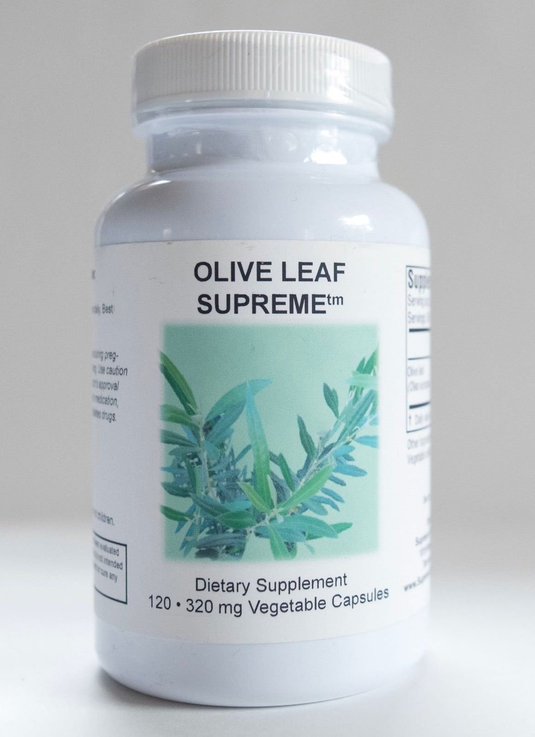 Olive Leaf Supreme by Supreme Nutrition. Antimicrobial, Antiviral, Heart Health