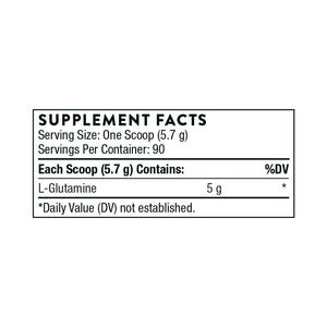 L-Glutamine Powder 18.1 oz. by Thorne Research.
