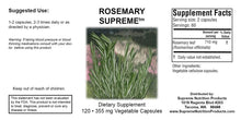 Rosemary Supreme (Supreme Nutrition) Helps Inflammation, Brain, Excess Estrogen