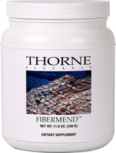 FiberMend by Thorne. Prebiotic Fiber For Regularity And Balanced GI Flora 11.6oz