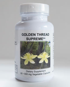 Golden Thread Supreme By Supreme Nutrition. Coptis. Infection, Liver/GB Support