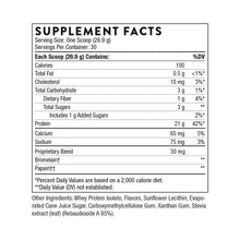 Whey Protein Isolate - Vanilla by Thorne Research Supplement Facts