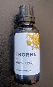 Vitamin D/K2 Drops by Thorne Research
