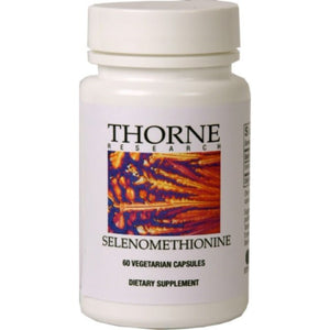 Selenomethionine by Thorne Research. 60 Veg Caps. Advanced Selenium