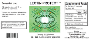 Lectin Protect by Supreme Nutrition. 90 Caps. Autoimmune/Chr Fatigue/AR