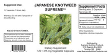 Japanese Knotweed Supreme Supplement Facts