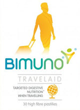 Bimuno Travelaid. Prebiotic Digestive Support. 30 Count. Increase Bifidobacteria