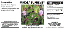 Mimosa Supreme by Supreme Nutrition. Properties: Antimicrobial, Ulcers, Detox.