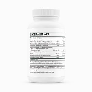Basic B Complex by Thorne Research. 60 Vegetarian Capsules