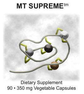 MT Supreme by Supreme Nutrition. Metal and Chemical Detox. 90 Caps. New!