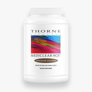 MediClear-SGS – Chocolate by Thorne Research. 37.9oz. Protein w/Detox Cofactors