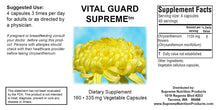 Vital Guard Supreme (Supreme Nutrition) Helps Infections, Lyme's, Brain, Heart.