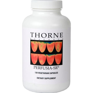 Perfusia-SR  by Thorne. Sustained Release L-Arginine. 120 Veg Caps Men's Health