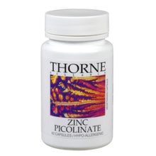 Zinc Picolinate by Thorne Research. 60 veggie caps 15mg