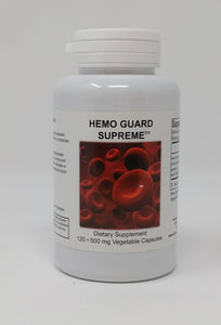 HemoGuard Supreme by Supreme Nutrition. Anti-inflammatory. Inhibits Clotting.
