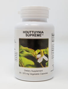 Houttunyia Supreme by Supreme Nutrition. Inflammation, Allergies, Lyme 90 Caps