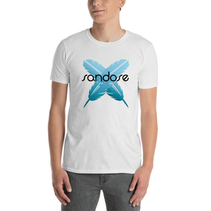 Sandose Feathers Men's White T-Shirt
