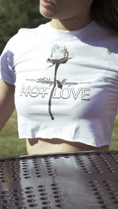 Ashley Morgan - Not Love Crop Top
