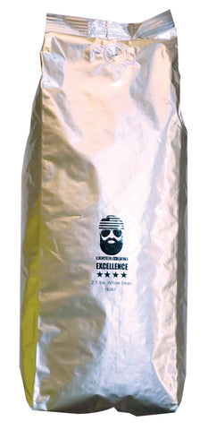 Beard Vet Excellence Coffee - 2.5 lb bag - WHOLE BEAN