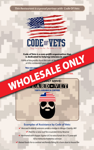 WHOLESALE ONLY -- 5x8 Table Cards