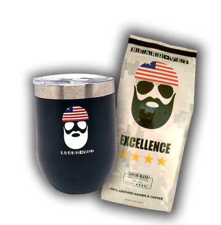 SPECIAL -- Beard Vet Short Tumbler & Coffee combo
