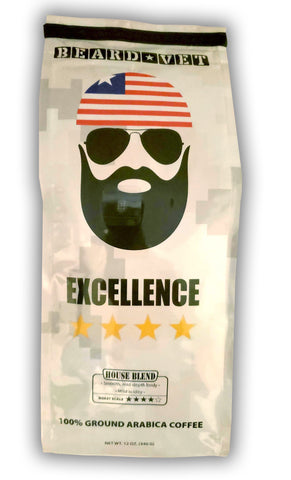 Beard Vet Excellence Coffee: House Blend - WHOLE BEAN