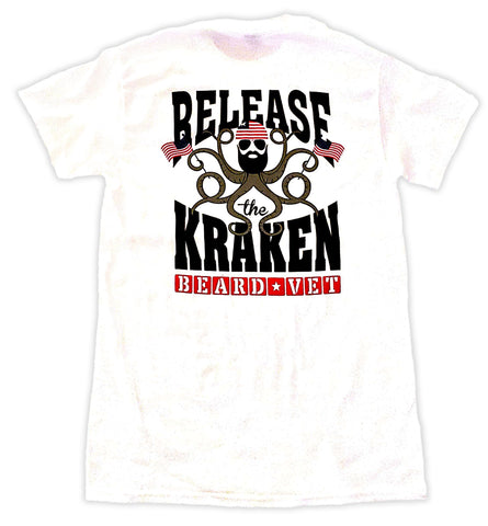 Beard Vet Kraken:  Release the Kraken Short Sleeve tshirt