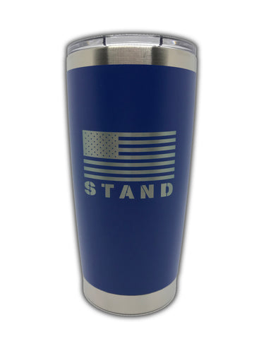 STAND 20 oz. tumbler - Blue