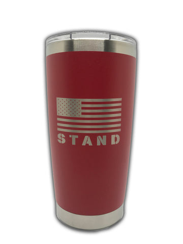 STAND 20 oz. tumbler - Red