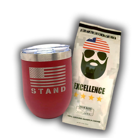 SPECIAL -- STAND Short Tumbler & Coffee combo