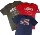 "Beard Vet ""America"" Short Sleeve Shirt"
