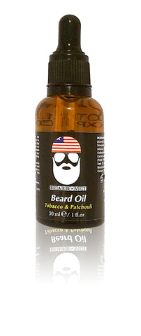 Beard Vet Beard Oil - Patchouli & Tobacco Scent