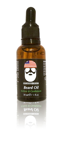 Beard Vet Beard Oil - Vetiver & Cardamom Scent - BUY ANY OIL GET FREE BALM