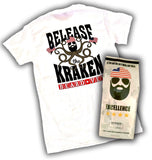Beard Vet Kraken T-shirt & Bag of coffee combo - shortsleeve