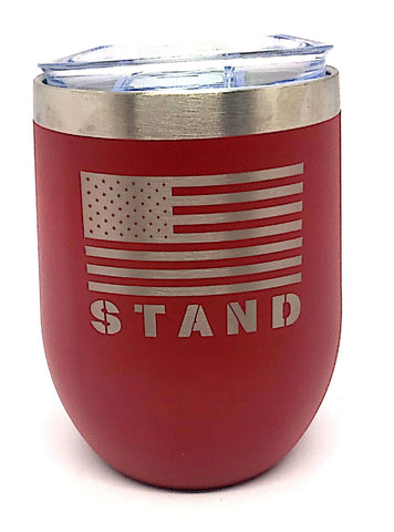 STAND Short tumbler - Red