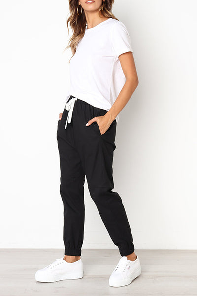 Orsle Ladies Casual Drawstring Pants