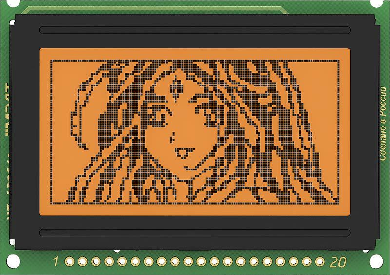 Graphic Monochrome LCD 128x64