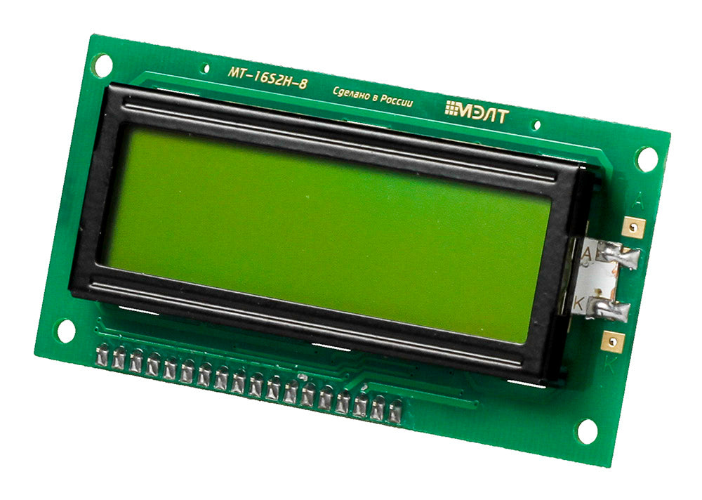 Text LCD 16×2 with I²C Interface