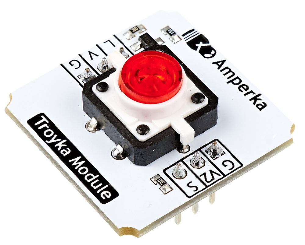 Illuminated Button (Troyka Module)
