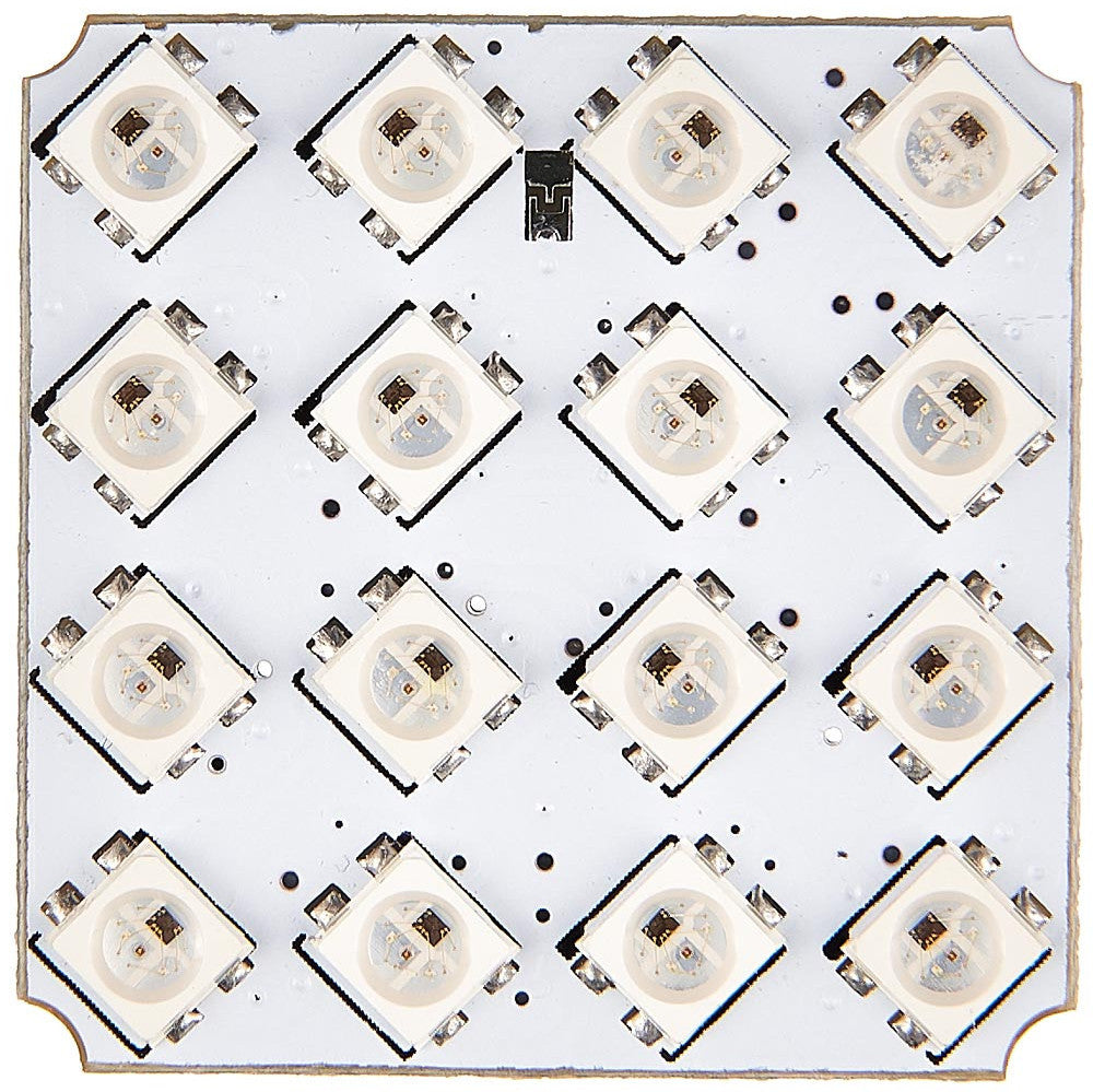 Addressable RGB LED Matrix 4×4 (Troyka Module)