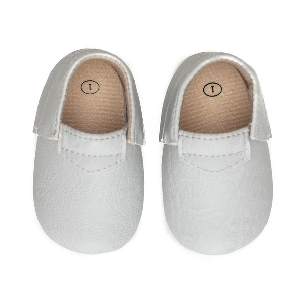 Sweet n Swag Modern Mox Shoes / Dove Grey